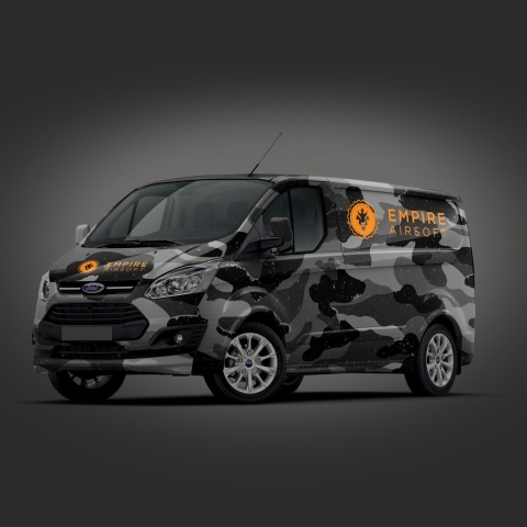 Empire Airsoft Delivery Van scaled